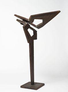 europeansculpture:  Costas COULENTIANOS (1918-1995) - Sans titre, Sculpture en fer de fonte, 1982