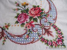 Cross Stitch Charts, Cross Stitch Embroidery, Beading Patterns, Stitch Patterns, Wreaths, Canvas, Crochet, Blog, Vintage