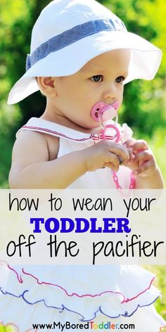 Are you wondering how to wean your toddler off the pacifier? We've put some tips together to make the process of weaning from the pacifier much easier! Parenting Classes, Parenting Toddlers, Parenting Books, Gentle Parenting, Parenting Advice, Practical Parenting, Foster Parenting, Toddler Fun, Toddler Activities