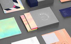 Material Art Fair Branding by Anagrama