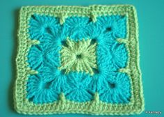 Granny Square - would be beautiful in pastels