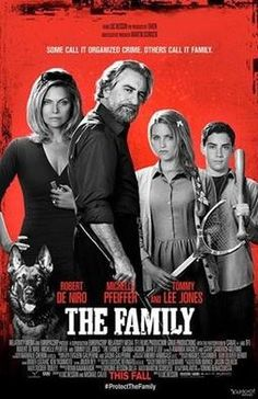 Dianna Agron & Robert De Niro: 'The Family' Trailer & Poster! Dianna Agron, Robert De Niro, Michelle Pfeiffer, and John D'Leo are featured on the poster for their upcoming film The Family. Formerly titled Malavita, the… Films Hd, Films Cinema, Hd Movies, Movies And Tv Shows, Watch Movies, Movies Free, Movies 2014, Popular Movies, Action Movies