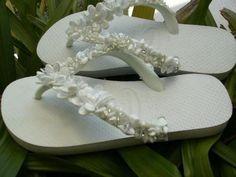 Sandálias Havaianas decoradas passo a passo – Não é incomum que, por conta de efeitos decorativos si