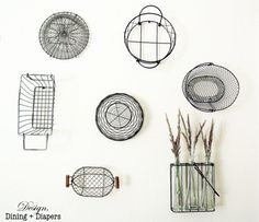 Decorative Basket Wall