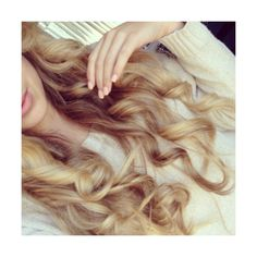 beautiful, blonde, curls, curly ❤ liked on Polyvore featuring beauty products, haircare, hair, hair style and curly hair care