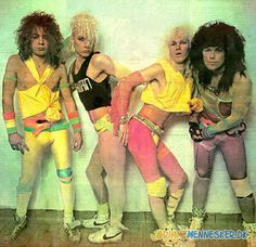 80's rock band...when neon wasn't just cool, but required.