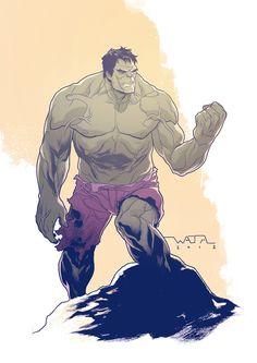 #Hulk #Fan #Art. (Hulk) By: Fwatanabe. (THE * 5 * STÅR * ÅWARD * OF: * AW YEAH, IT'S MAJOR ÅWESOMENESS!!!™)[THANK Ü 4 PINNING!!!<·><]<©>ÅÅÅ+(OB4E)