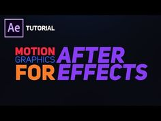 Create Bouncy Text Typography in After Effects - Complete After Effects Tutorial - YouTube