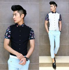 6d65817dc 2014 Brand New Popular Design Man Shirt Slim Stylish Fancy Shirts Party  Club Clothing Wholesale $22.99