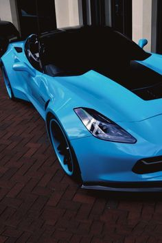 Visit The MACHINE Shop Café... ❤ Best of Corvette @ MACHINE ❤ (Tiffany 2014 Chevrolet Corvette C7 Z06 Stingray Forgiato Widebody)