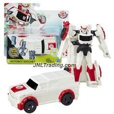 Hasbro Year 2015 Transformers Robots in Disguise Animation Series One Step Changer 5 Inch Tall Figure - AUTOBOT RATCHET (Vehicle Mode: SUV)