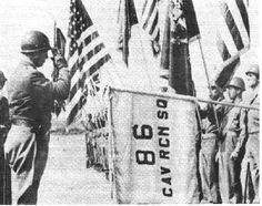 """This link talks about the 86th Cavalry Reconnaissance Squadron being transported from """"Camp Shanks"""" New York on February 10th, 1944 to Cardiff, Whales on February 23, 1944. The rough journey is documented in the book, """"The Super Sixth"""", by George F. Hofmann."""