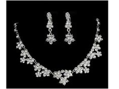 Check out this item in my Etsy shop https://www.etsy.com/listing/234467902/sparkling-crystal-necklace-earring-set