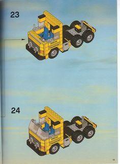 Lego City Sets, Lego Sets, Lego Truck, Lego Group, Lego Instructions, Lego Games