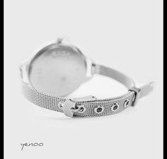 Zegarek, bransoletka - Czarny kot - szary - Yenoo - Zegarki Personalized Items, Bracelets, Silver, Etsy, Jewelry, Jewlery, Jewerly, Schmuck, Jewels