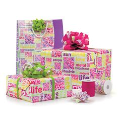 Gift Wrap | QR Code