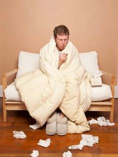 How to recognize the symptoms of cold and flu, which treatments work best, and advice on staying healthy during cold and flu season. Healthy Tips, How To Stay Healthy, Flu Season, Asthma, Health Remedies, Rid, Winter Jackets, Exercise, Education