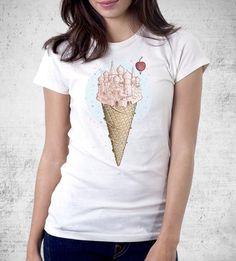 Coney Island Women's Shirt- The Pixel Empire