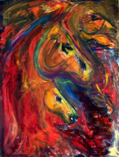 amazing native american oil paintings | Donna Bernstein – Horse Artist Interview | The Equinest