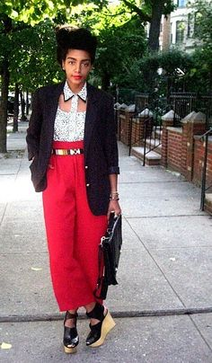 Street style out of Brooklyn. (Photo: Cipriana)
