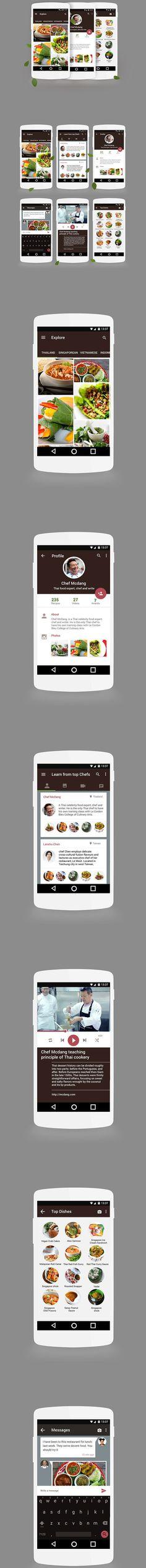 Mobile UI Design Inspiration #40 - Smashfreakz