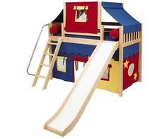 1000 Images About Bunk Beds And Loft Beds On Pinterest