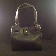 Vintage Coach Small Double Handles Handbag Guc