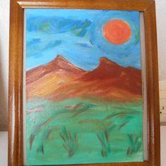 Día en un sueno #paleont #arte #óleo #cuadroartistico #pintura #méxico…