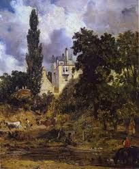 Constable, John - The Grove, Hampstead, Tate Britain, Londres John Constable Paintings, English Romantic, Tate Gallery, Tate Britain, Man Of War, Oil Painting Reproductions, Western Art, Best Artist, Les Oeuvres