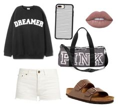 """Chillin 😎"" by cute1980 on Polyvore featuring Yves Saint Laurent, Birkenstock, Victoria's Secret and Casetify"