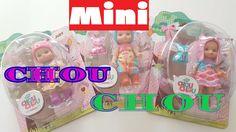 Мини CHOU CHOU куклы для девочек. РАСПАКОВКА!!!