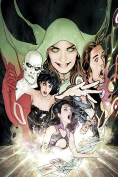 Justice League Dark...Ive been reading Dc comics for 30 years and this is by far the best event Dc has ever done. Best art,writing,and just overall fun ive ever experienced in comics. Love it!!