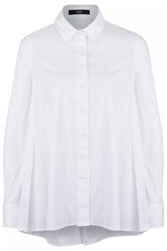 Steffen Schraut Damen Bluse Weiss | SAILERstyle Pullover, Shirts, Shirt Dress, Mens Tops, Dresses, Women, Fashion, Shirt Collars, Blouses