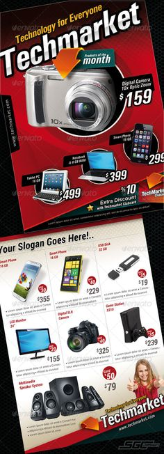 Technology Market Sales Flyer