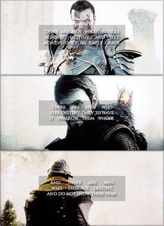 Dragon Age: Origins, II, Inquisition; Grey Warden, Garrett Hawke, and the Inquisitor [gif]