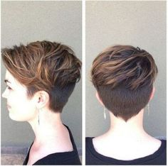 Cool Short Messy Pixie Haircut