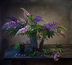 Люпины. by Oksana Evkodimova on 500px
