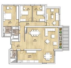 4 + 1 Home Plans
