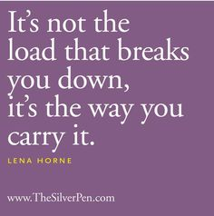 Learn how to prioritize, share, break down, and leave it, as needed. Don't carry what you aren't meant to. Travel lighter and lighter.