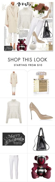 """Untitled #1221"" by elena-starling ❤ liked on Polyvore featuring Nili Lotan, Roja Parfums, Derek Lam, Casadei, Reed Krakoff, Burberry, Eugenia Kim and fallwinter2015"