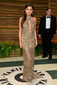When she killed it in this beautifully beaded gown: | 13 Times Selena Gomez Slayed The Red Carpet