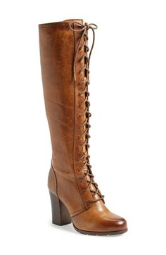 dc08a2dff38 Free shipping and returns on Frye  Parker  Lace-Up Tall Boot (Women