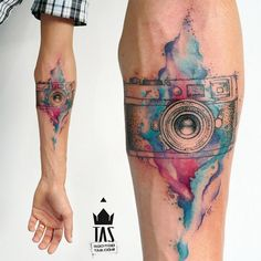 Watercolor Tattoo                                                                                                                                                     Mais