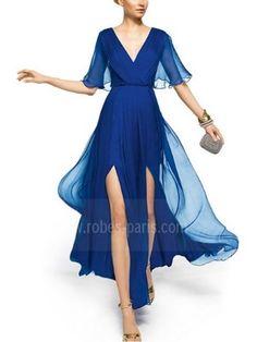 Robes de soirée H521 Gemstone Blue H521 | robes-paris.com