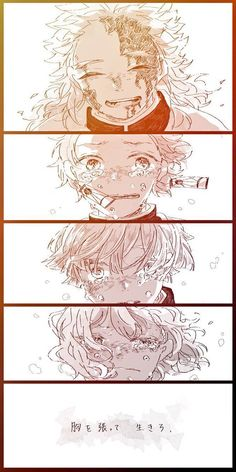 Doujinshi Kimetsu no Yaiba - Tóc >< - Página 3 - Wattpad Manga Anime, Sad Anime, Anime Demon, Anime Art, Demon Slayer, Slayer Anime, Demon Hunter, Anime Angel, Animes Wallpapers