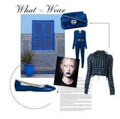 """FEEL BLUE"" by tessabit ❤ liked on Polyvore featuring Haider Ackermann, Fendi, MICHAEL Michael Kors, Roger Vivier, michaelkors, fendi, tessabit, HaiderAckermann and rogervivier"
