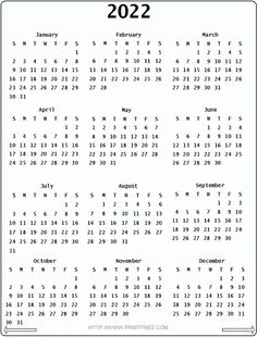 Gregorian Calendar 2022 2018 Calendar Printable Free, Free Calendars To Print, Blank Monthly Calendar Template, Printable Planner, Monthly Calendars, Printable Templates, 2012 Calendar, Calendar Ideas, Printables