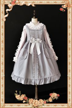 Infanta -Jenny Cookies- Pure Color Classic Lolita JSK Thick Version