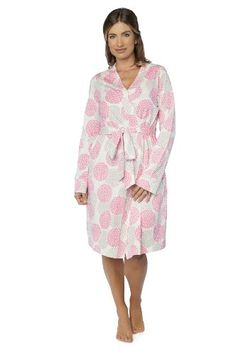 Cute robe has a relaxed and contemporary style which is ideal to pair with  the Lilly nursing nightgown or labor   delivery gown. Perfect for the  hospital. 1515ff10f