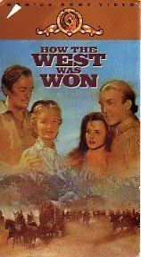 How the West Was Won [VHS - James Stewart